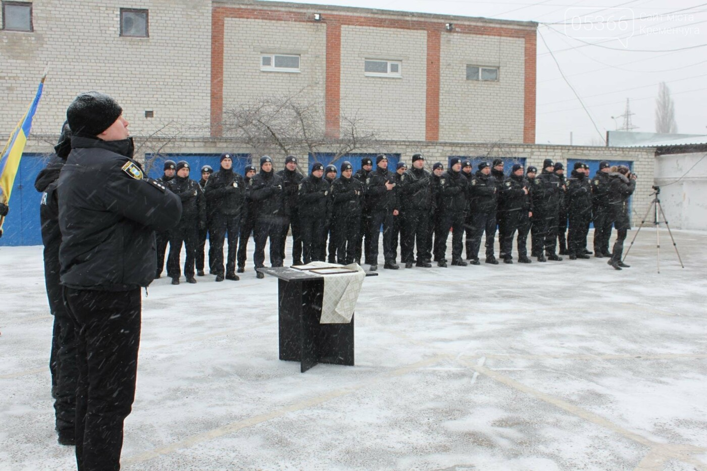 патрульные Кременчуга