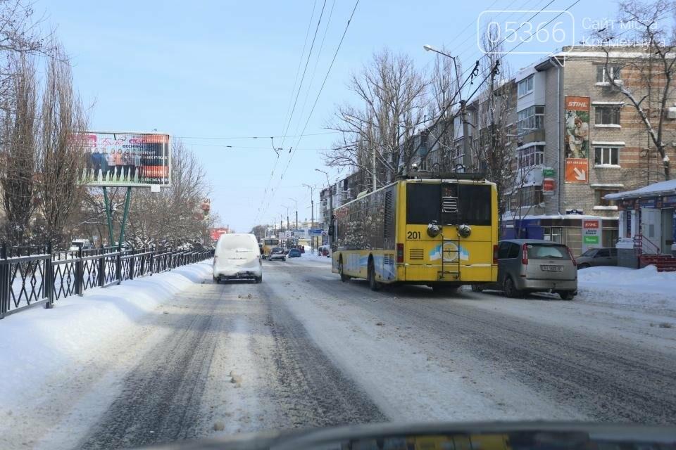 зима в Кременчуге