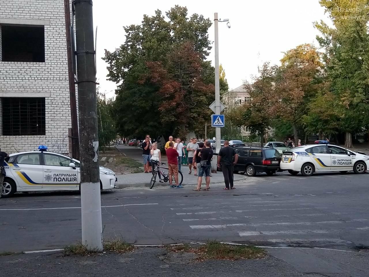 В центре Кременчуга машина патрульной полиции врезалась в Фольксваген. Трое пострадавших (ФОТО), фото-7