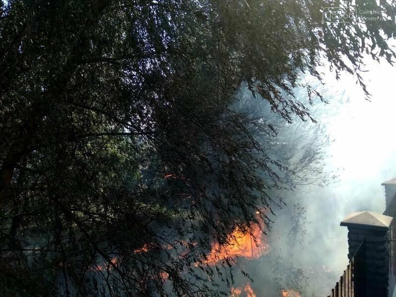 пожар на Реевке
