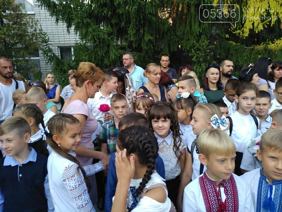 Старшокласники школи №1 радо прийняли до школи першачків: не обійшлося без сліз щастя, фото-7