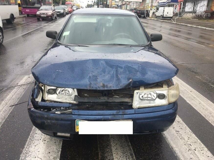 ДТП у Кременчуці: дві автівки добряче розтрощило, фото-1