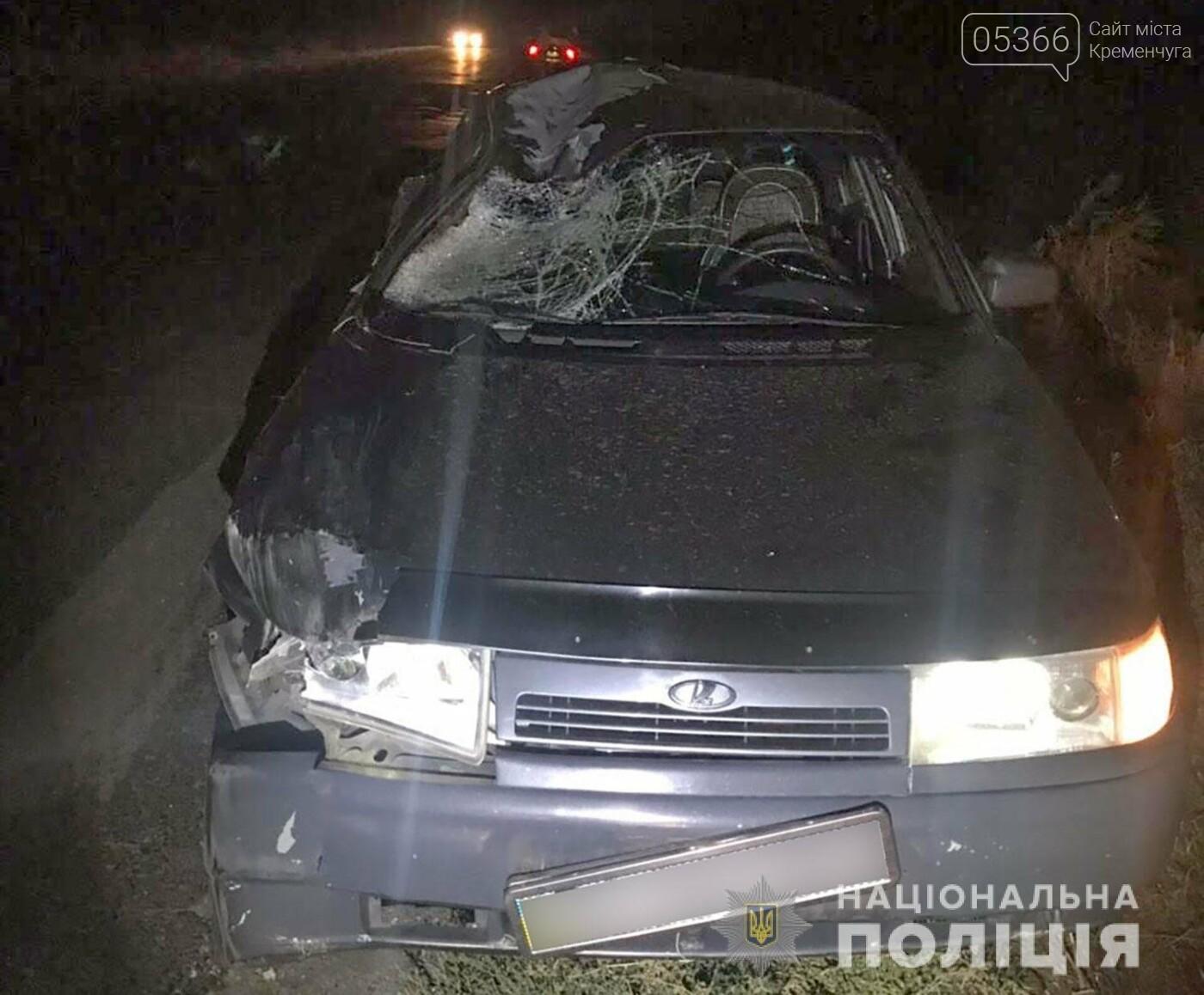 У Кременчуцькому районі сталася смертельна ДТП: пішохід помер на місці, фото-1