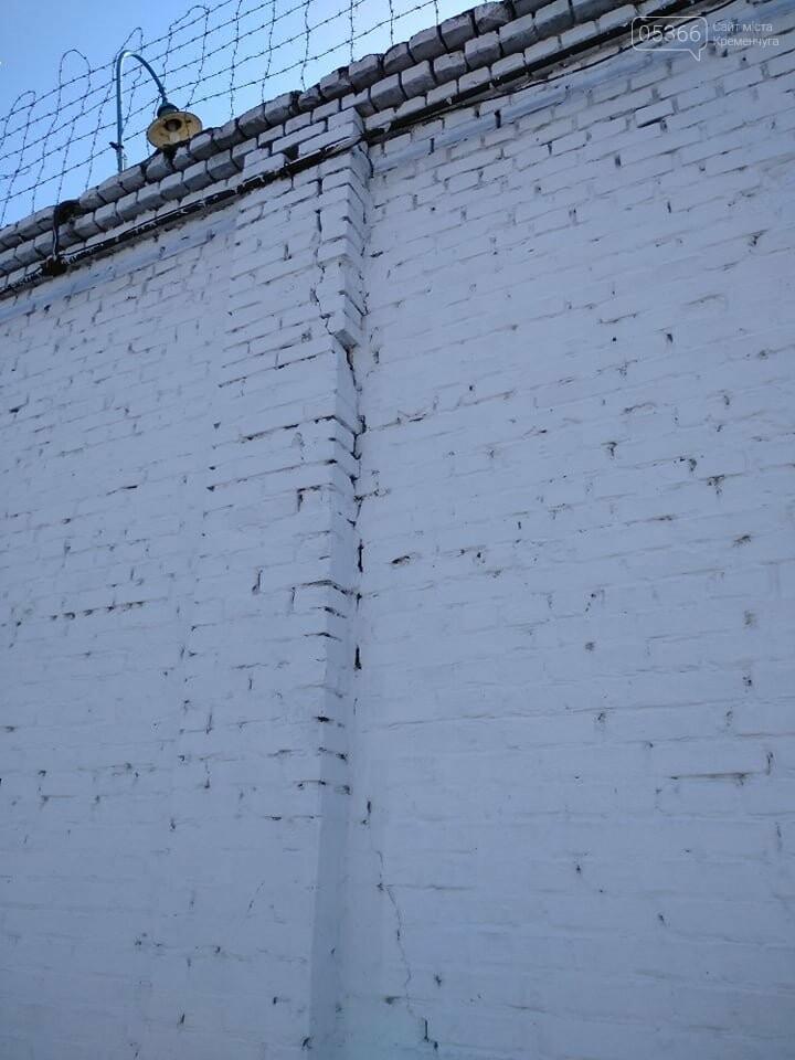 Кременчуцька виховна колонія може впасти комусь на голову: стіна у тріщинах. ФОТО, фото-9