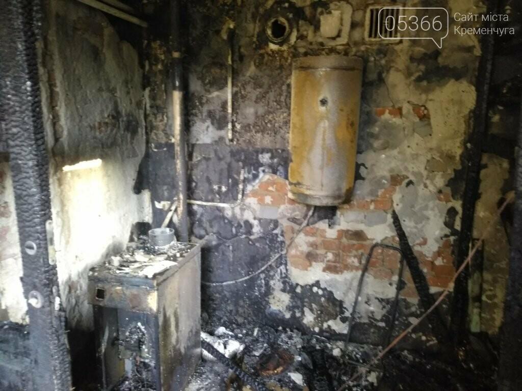 На Крюкові горіла прибудова: пожежники годину гасили полум'я , фото-1
