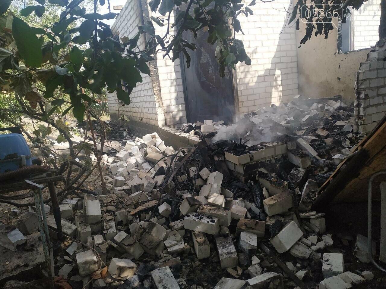 У Кременчуцькому районі згорів житловий будинок: загинув чоловік, фото-1