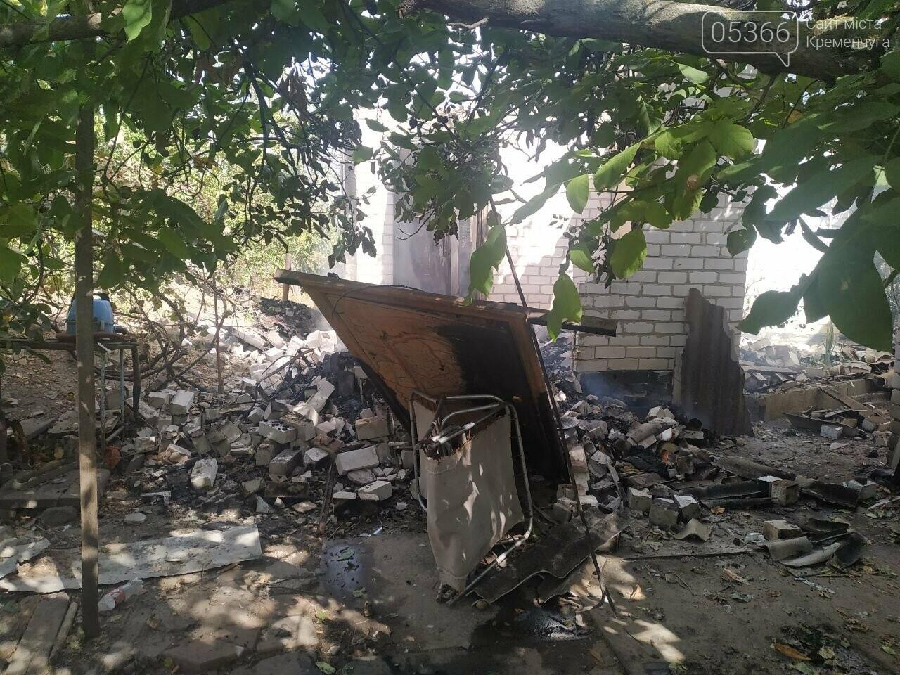 У Кременчуцькому районі згорів житловий будинок: загинув чоловік, фото-2
