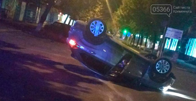 У Кременчуці сталася ДТП: винуватець аварії перебував у розшуку, фото-1