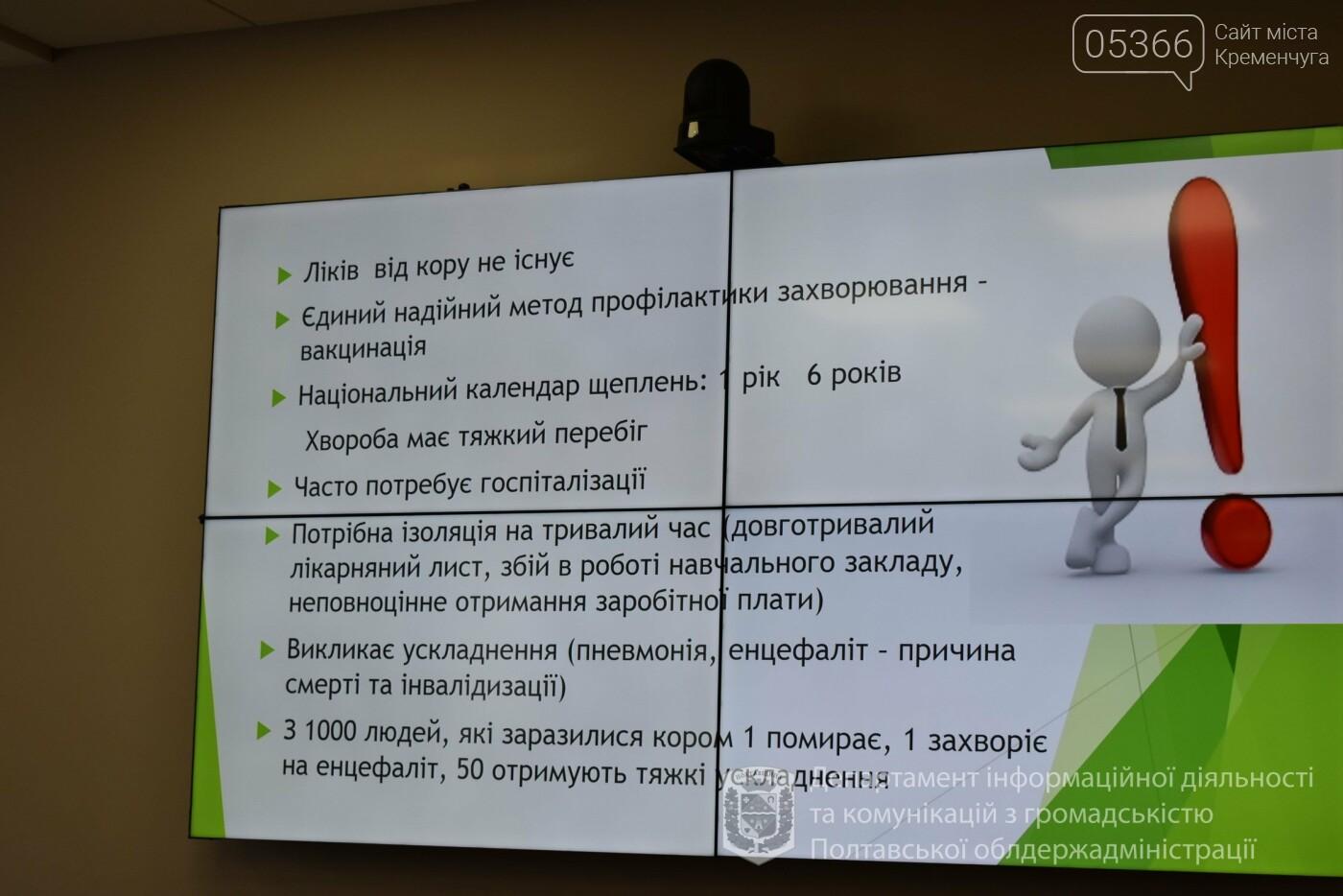 З жовтня на Полтавщині проводитимуть додаткову імунізацію учнів проти кору, фото-1