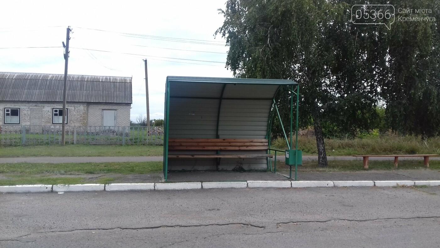 Зупинки, спортмайданчики, освітлення: перелік проектів громадського бюджету громад Кременчуцького району, фото-5