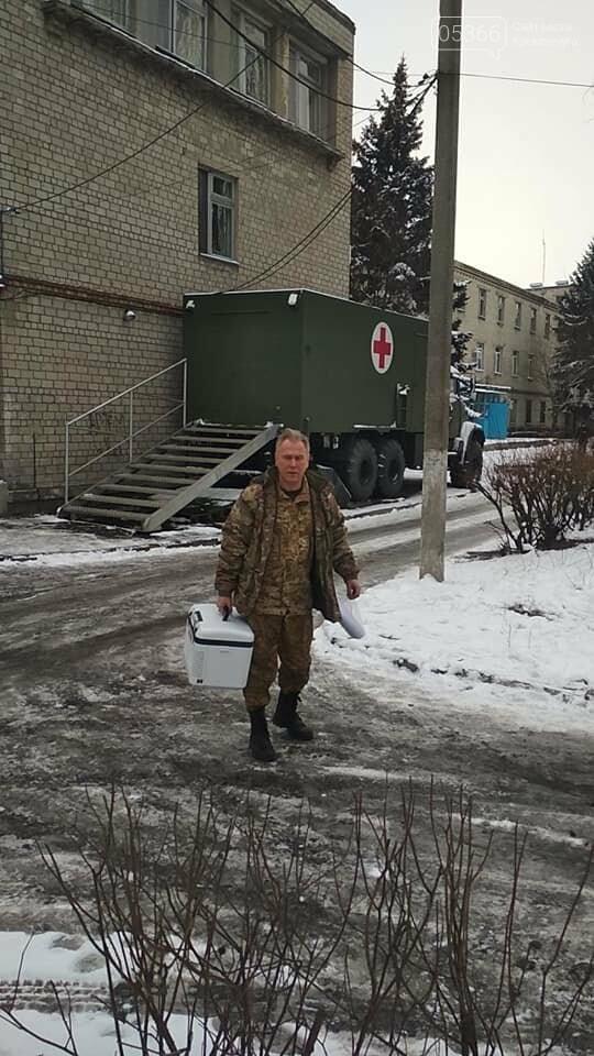 Кременчугская кровь направлена на спасение раненых в Авдеевку, фото-3