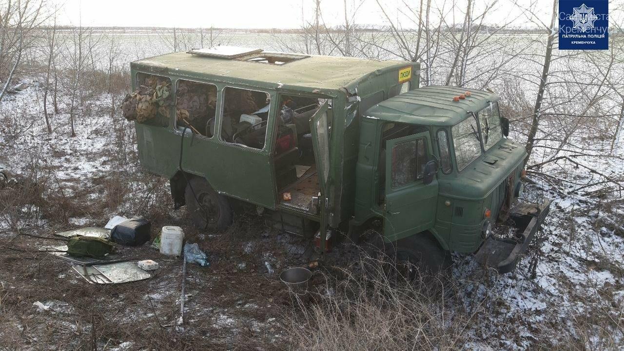 До лікарні Кременчука доправили військових, що травмувалися у ДТП, фото-3