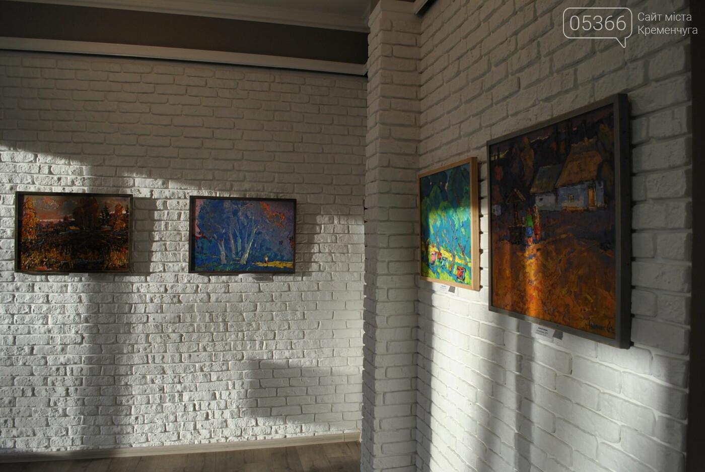 Кременчужан запрошують насолодитися соковими картинами талановитих митців з Полтавщини. Фото, фото-2