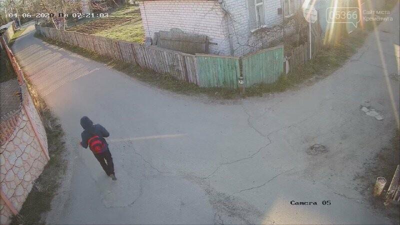 Поліція розшукує чоловіка, що ймовірно обкрадав дачі у Кривушах. Фото, фото-1