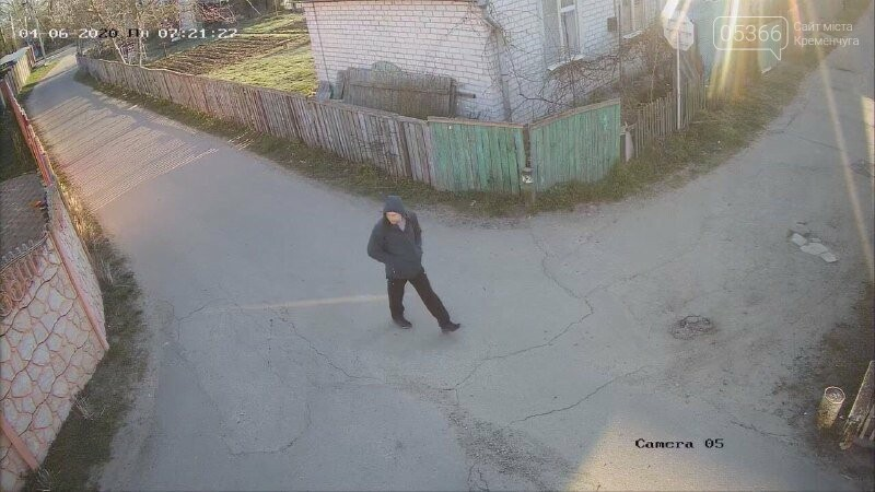 Поліція розшукує чоловіка, що ймовірно обкрадав дачі у Кривушах. Фото, фото-2