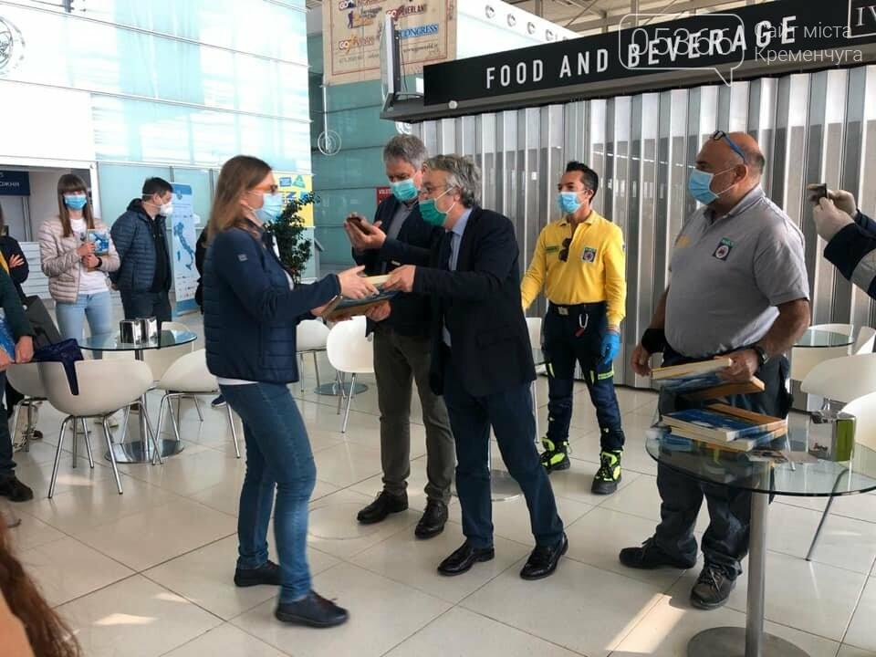 Українські лікарі повертаються додому з відрядження в Італії. Фото, фото-2