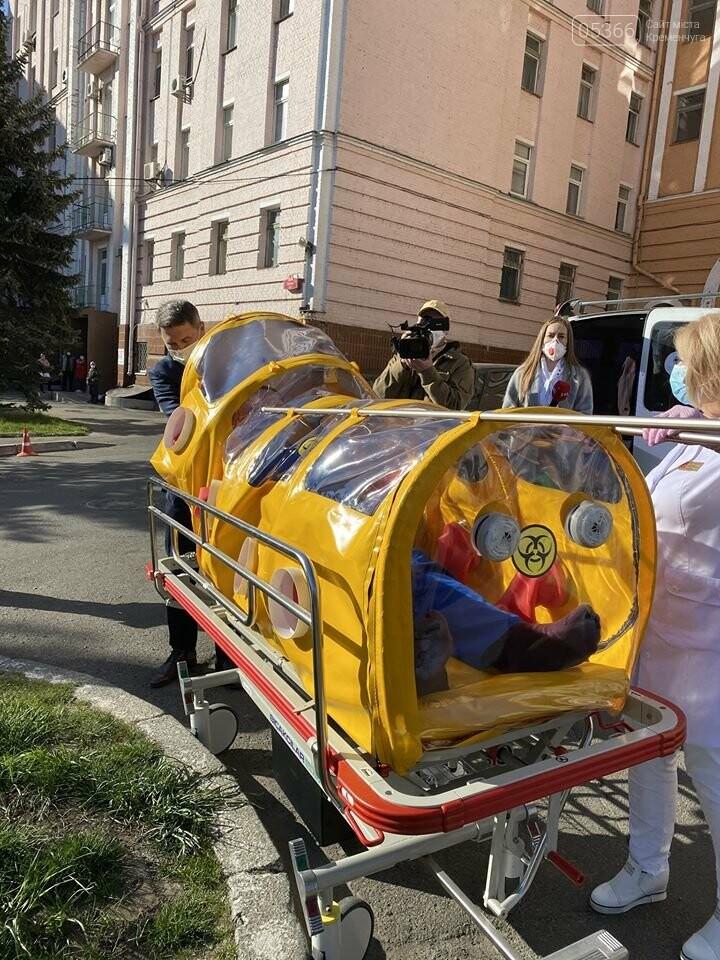 Капсулу кременчуцьких розробників отримала Олександрівська лікарня в Києві, фото-1