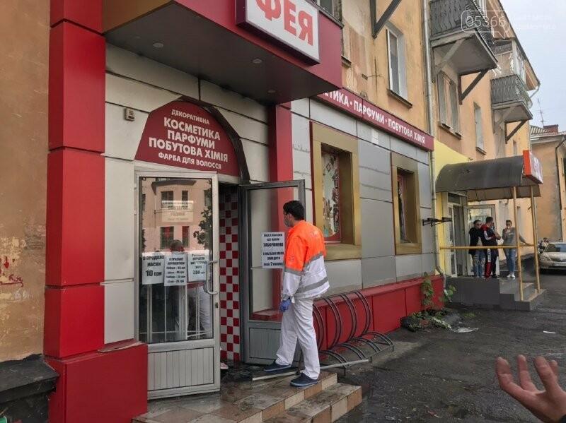 Підпалив жінку: на Крюкові у магазині стався злочин, фото-2