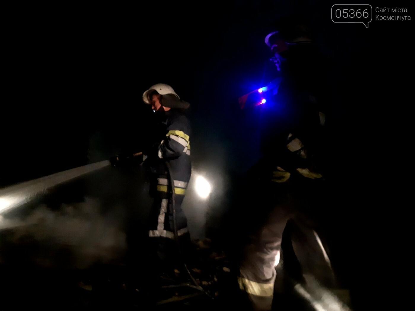 """У Кременчуці загорівся дачний будинок пенсіонера: чоловікові викликали """"швидку"""", фото-1"""