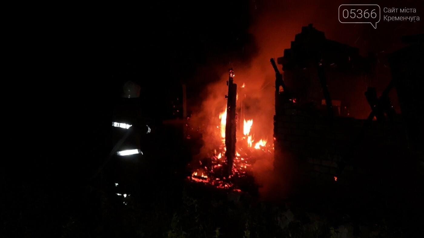 """У Кременчуці згорів дачний будинок в садовому товаристві """"Металург"""", фото-3"""