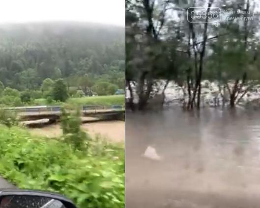 Кременчужани зняли відео стихійного лиха у Ворохті, фото-4