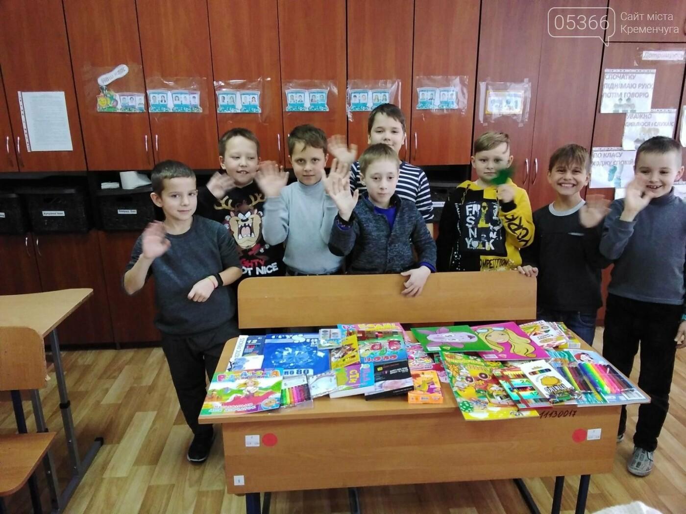 """Кременчуцькі учні зібрали """"Коробки хоробрості"""" для онкохворих, фото-4"""