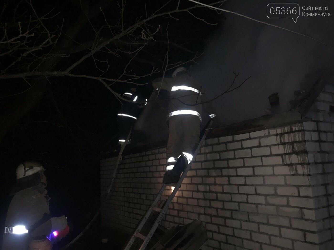 У Кременчуцькому районі сталася пожежа в гаражі. Фото, фото-1