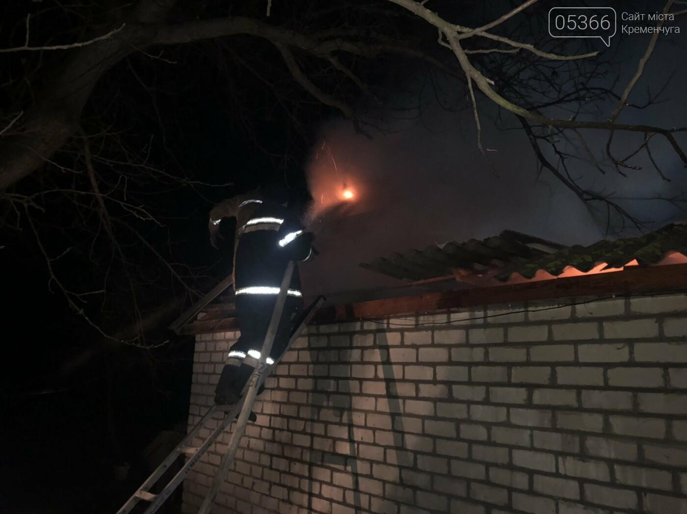 У Кременчуцькому районі сталася пожежа в гаражі. Фото, фото-2