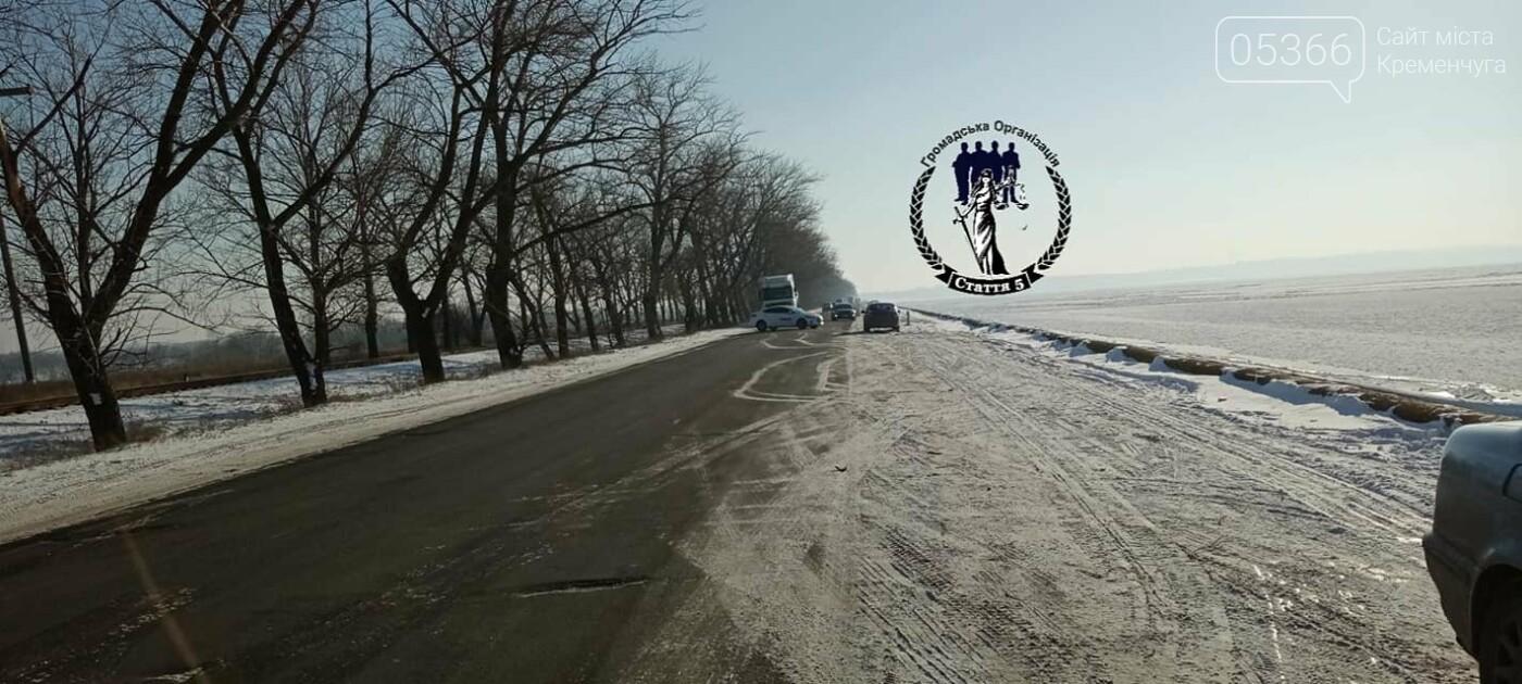 Біля Власівки вантажівка з'їхала у водосховище, фото-1