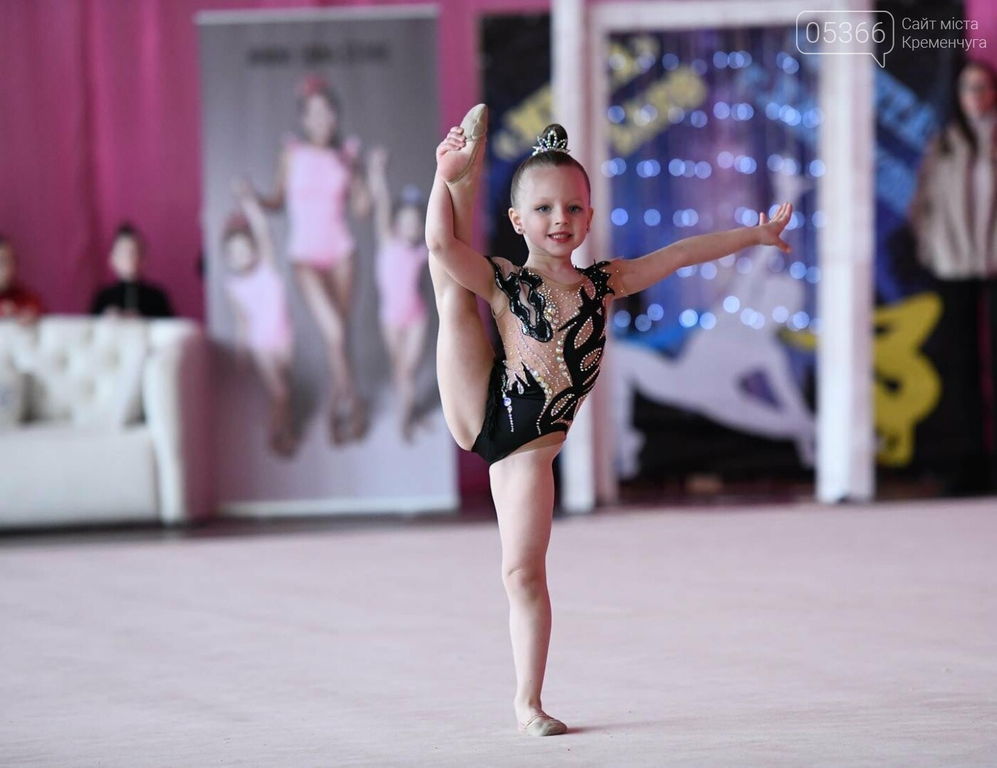 Юна гімнастка, що представляла Кременчук, стала чемпіонкою, фото-4
