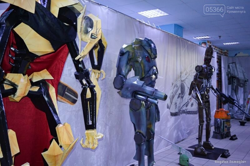 Звездолеты, роботы и Мастер Йода — в Кременчуге откроется крутая выставка, фото-4