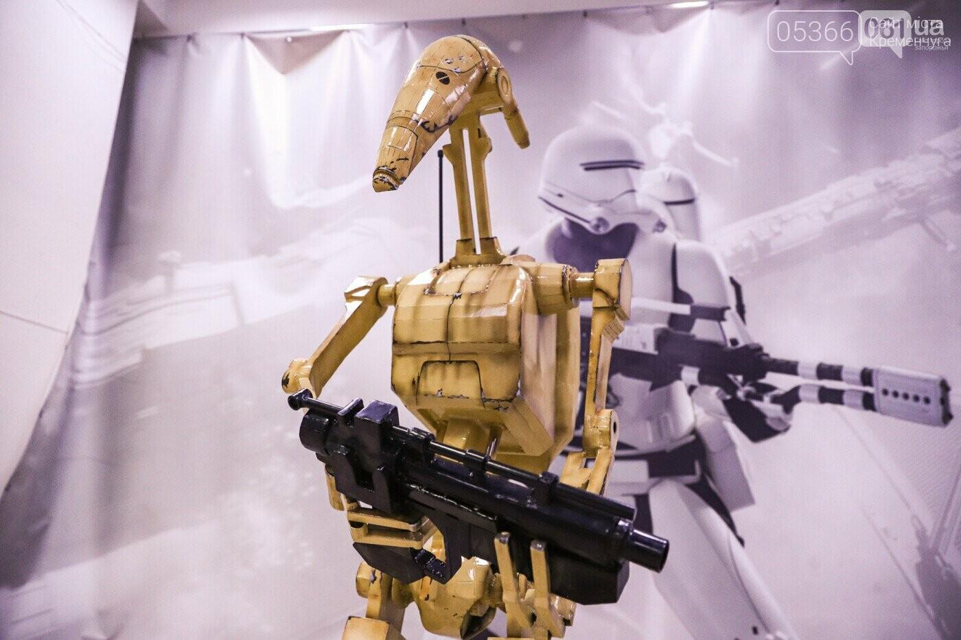 Звездолеты, роботы и Мастер Йода — в Кременчуге откроется крутая выставка, фото-9