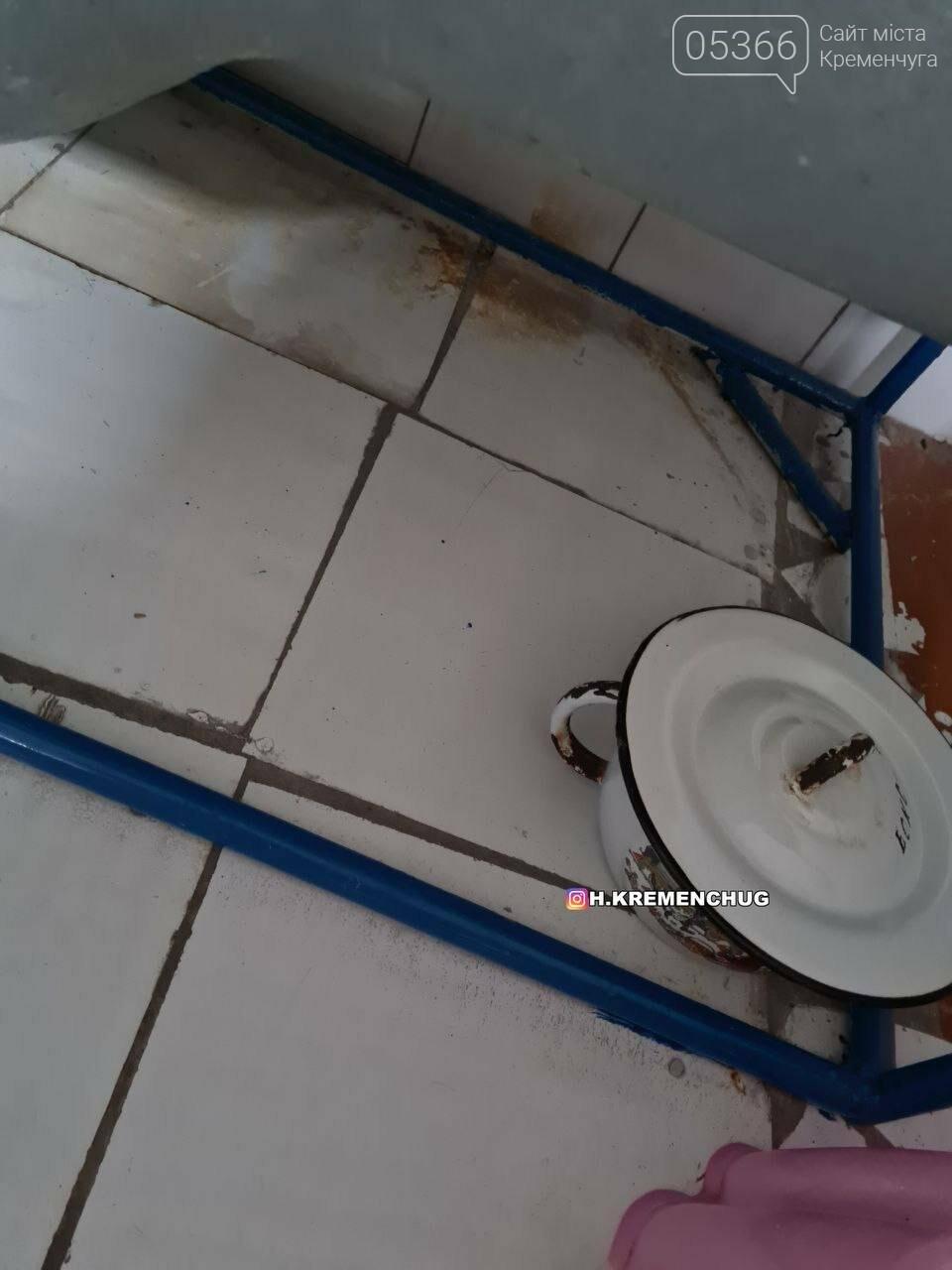 """У лікарні """"Кременчуцька"""" відключили воду через несправну каналізацію, фото-1"""