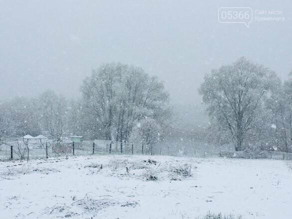 На Полтавщині сьогодні випав сніг, фото-3