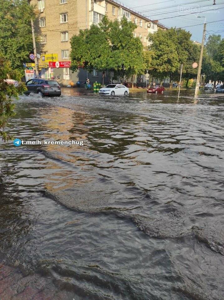 Злива у Кременчуці: соцмережі ділилися світлинами повені, фото-3