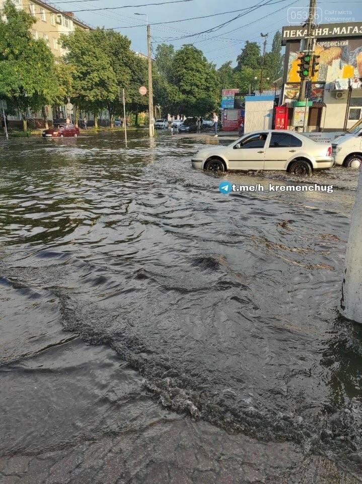 Злива у Кременчуці: соцмережі ділилися світлинами повені, фото-4
