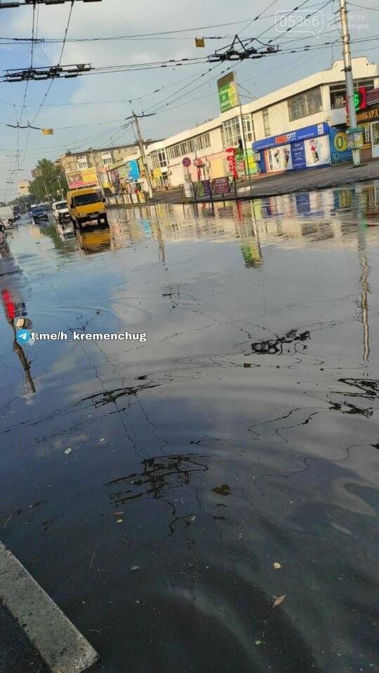 Злива у Кременчуці: соцмережі ділилися світлинами повені, фото-5