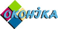 Логотип - Оконика, металлопластиковые окна и двери в Комсомольске