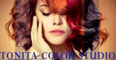 Логотип - Tonita Color Studio, студия красоты и цвета в Кременчуге