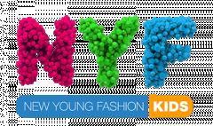 Логотип - NYF | Ньюф, магазин одежды для детей, игрушки, товары для детей в Кременчуге