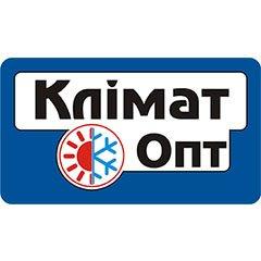 Логотип - Климат Опт, кондиционеры и климатическая техника в Кременчуге