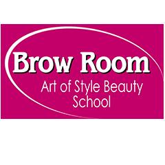Логотип - Brow Room, студия Натальи Кармазиной, микроблейдинг в Кременчуге