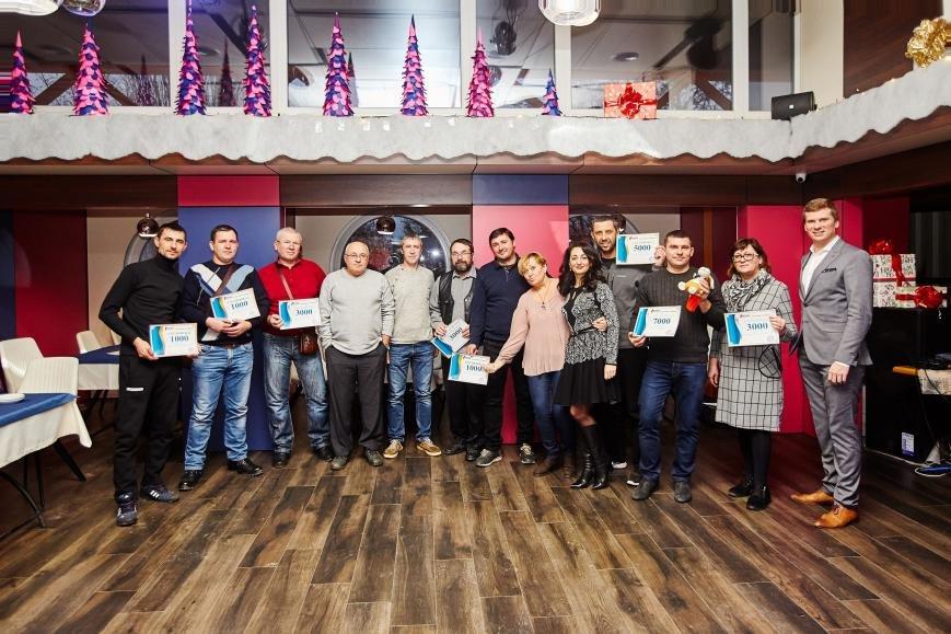 Розыгрыш сертификатов от ПОЛО в Кременчуге 27.12.17