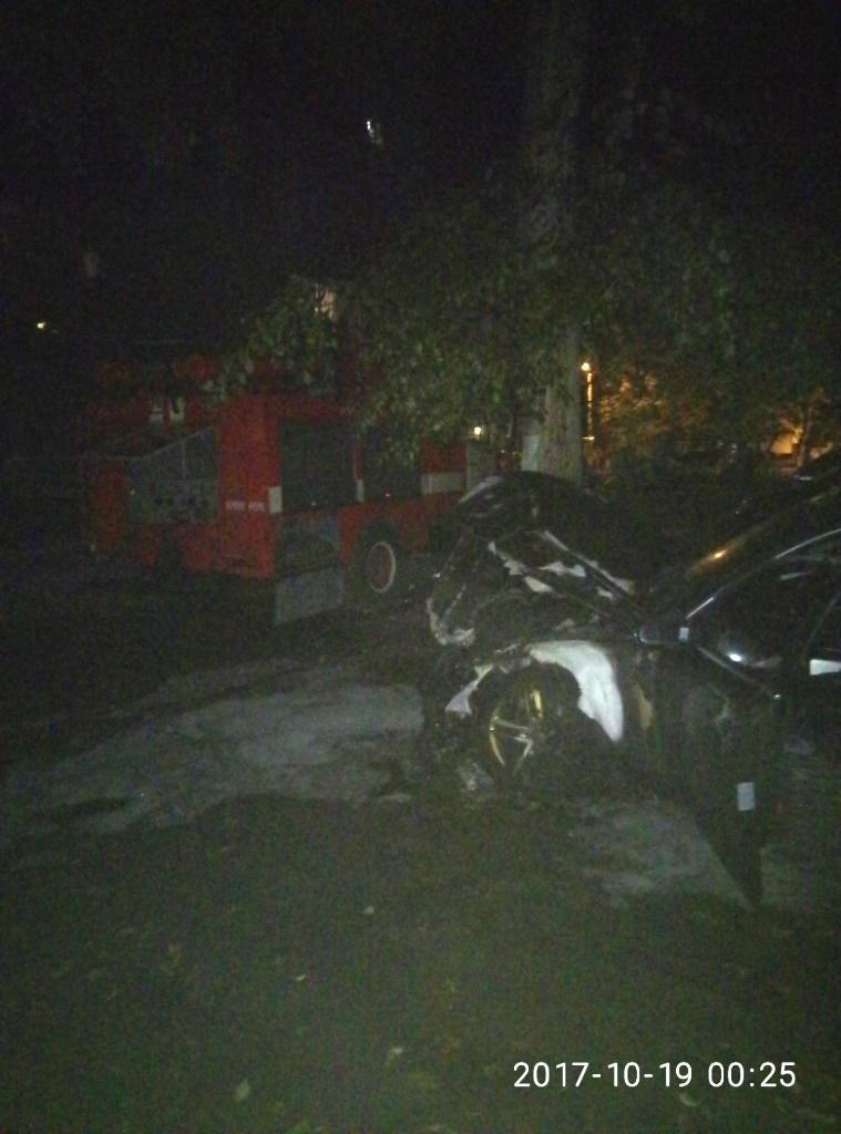 В Кременчуге неизвестные подожгли Ауди А6 (ФОТО), фото-2