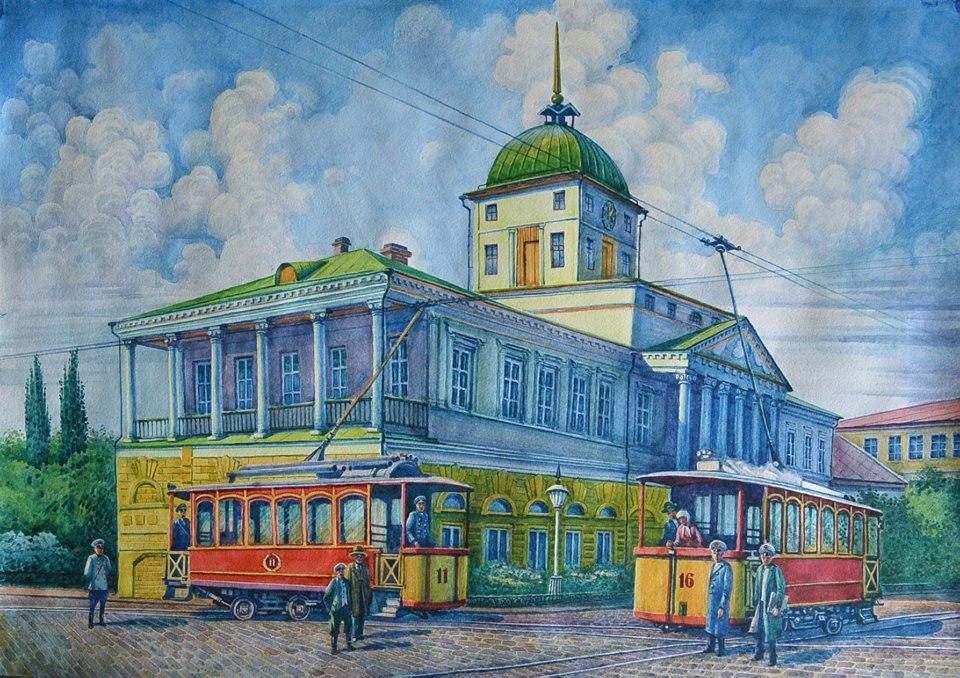 В Кременчуге открывается выставка кременчугского художника Владимира Дружко «Акварельні спогади», фото-4