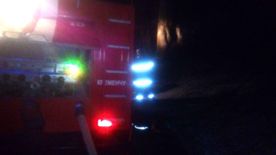 У Кременчуцькому районі сталася пожежа в приватному господарстві (фото), фото-1