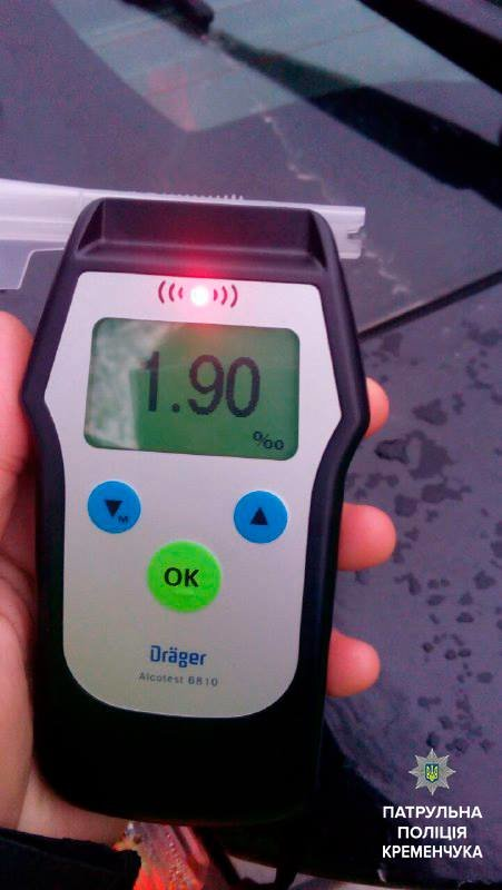 В Кременчуге пьяный водитель устроил ДТП (ФОТО), фото-1