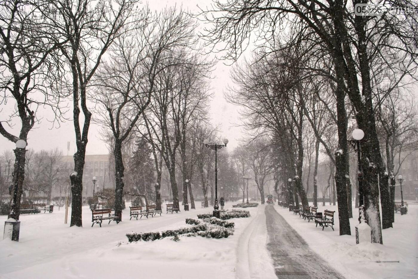 снег в Кременчуге