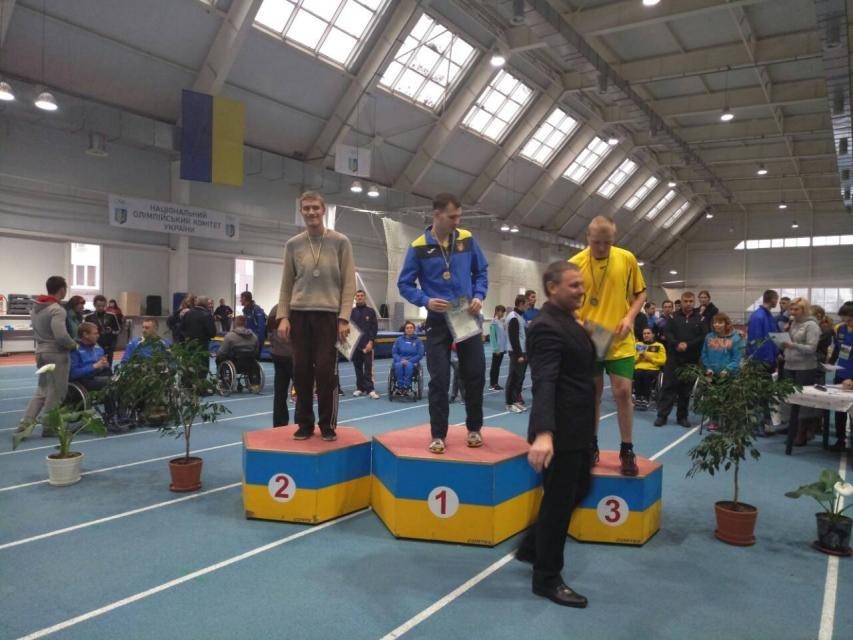 Чемпионат Украины по лёгкой атлетике в Бахмуте