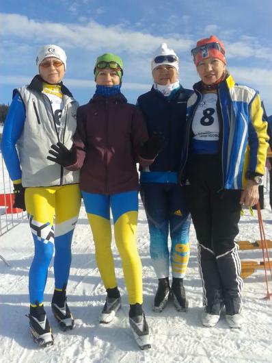 команда лыжников Полтавщины